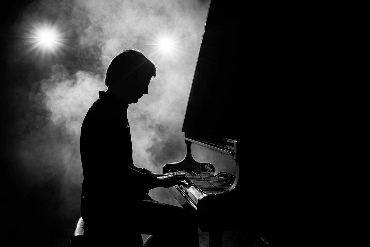 Über mich - Klavier